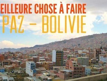 la paz bolivie que faire