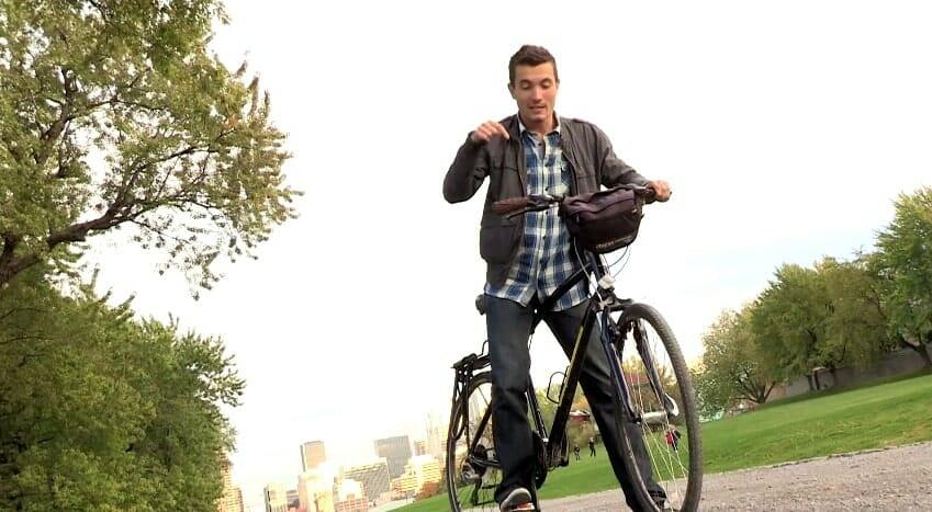 vélo au parc du mont royal montréal