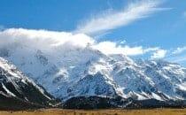 Mont Cook parc national ile du sud Nouvelle Zélande
