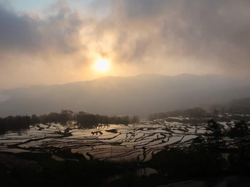 Tour du monde alex en Chine rizieres de YuangYang que faire en Chine