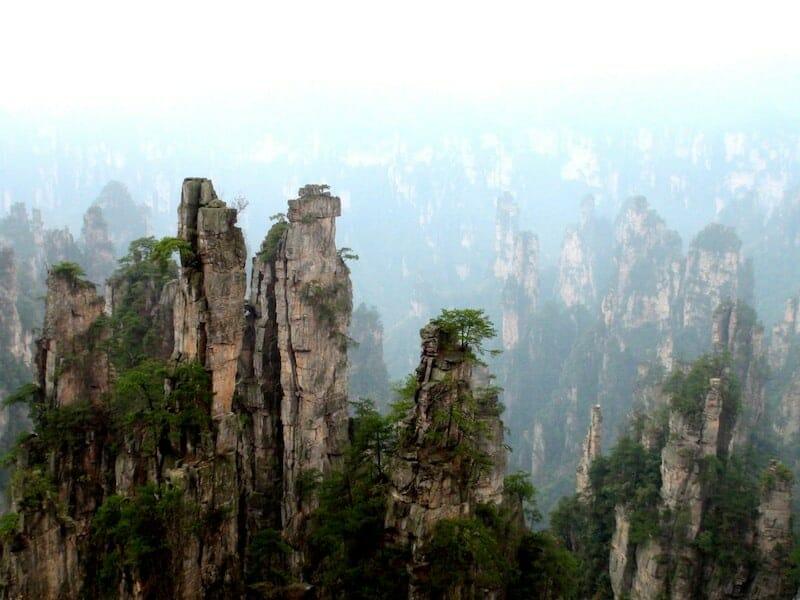 blog voyage vizeo parc national de zhangjiajie chine que faire en Chine