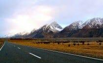 en tour du monde Mt Cook ile du sud Nouvelle Zélande