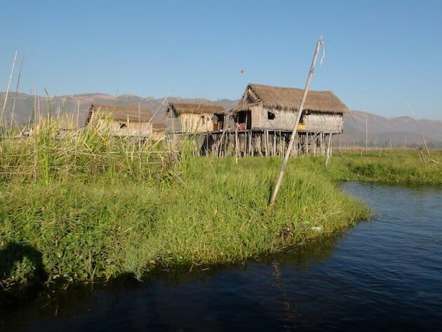 Birmanie Lac Inle maison piloti