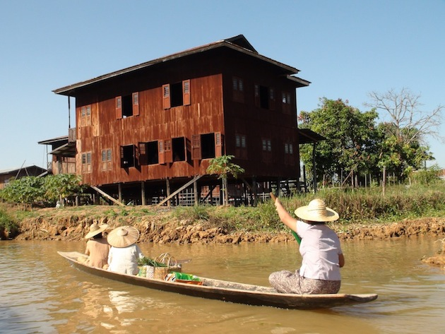 que faire en Birmanie Lac Inle maison piloti