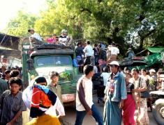 embouteillage camion birman
