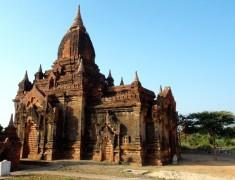 temple vallee bagan Birmanie