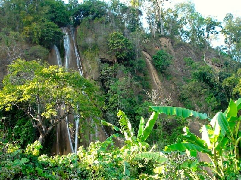 trek cascades de hsipaw birmanie Myanmar
