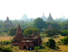 vallee des temples de bagan vue des toits