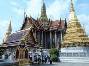 Wat phra kaew bangkok thailande