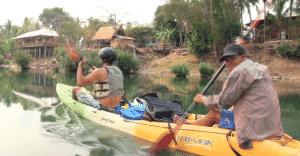 kayak 4000 iles Laos