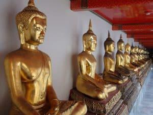 temple wat po, bangkok, thailande