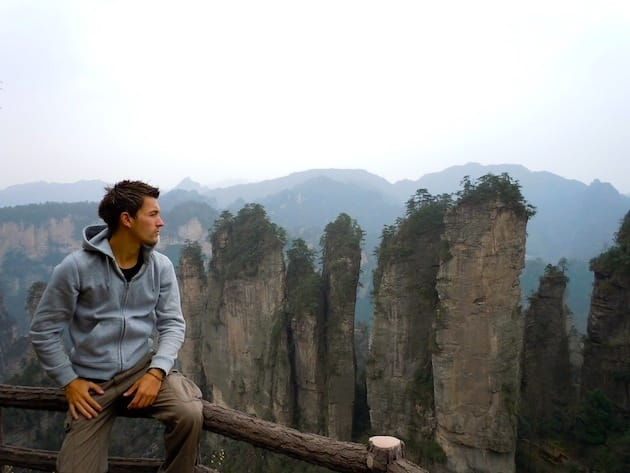 Alex pics Xhangjiajie Chine