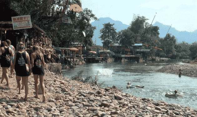 tubing Vang Vieng Laos