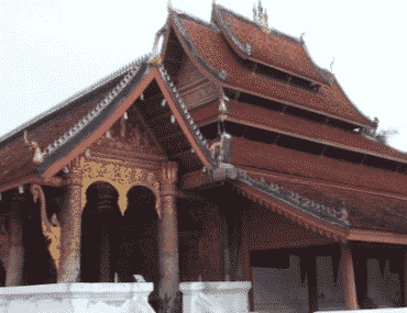 temple Luang Prabang Laos