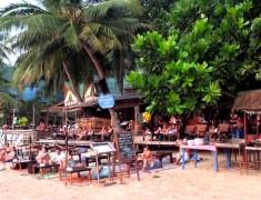 bar sairee beach koh tao thailande