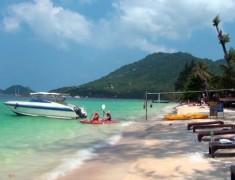 sairee beach koh tao thailande