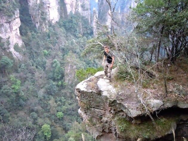 Alex rebord pic zhangjiajie Chine