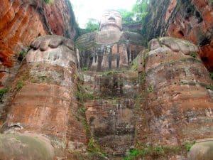 Bouddha géant de Leshan chine