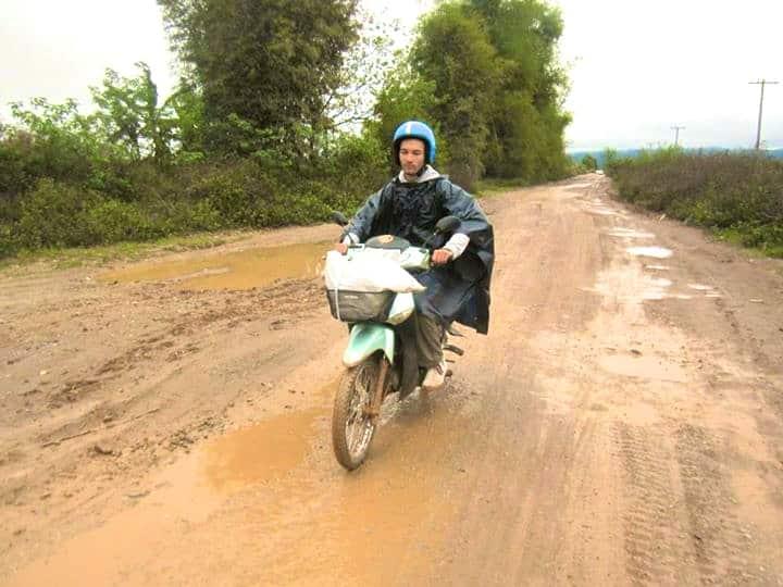 alex boucle moto thakhek laos