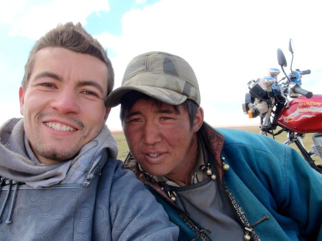 Odolm et Alex mongolie