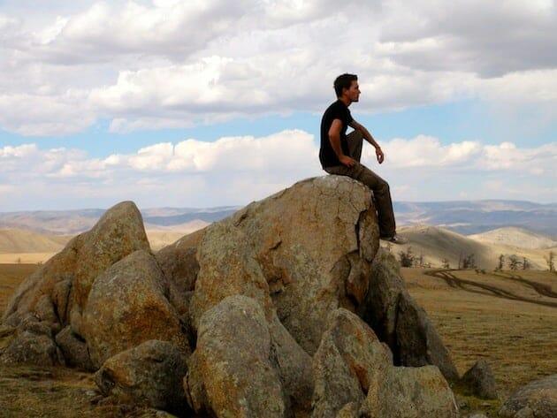 Alex expedition en van russe mongolie
