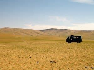 Van russe expédition mongolie