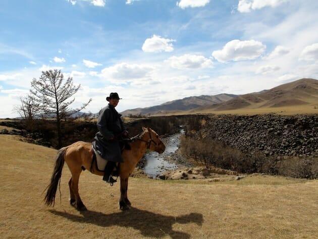 trek a cheval mongolie