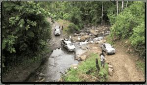 retour en 4x4 treck vallée du Baliem Papouasie 2