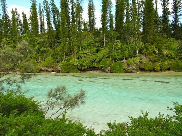 piscine naturelle ile des pins nouvelle-caledonie