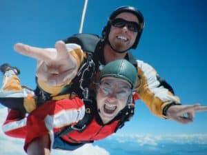 1. Chute libre skydiving taupo ile du nord nouvelle zélande