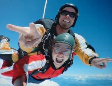 Chute libre skydiving taupo ile du nord nouvelle zelande