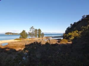 bay Abel Tasman national parc Nouvelle Sélande