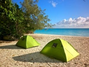 hotel quatre étoiles plage de Luengoni lifu nouvelle calédonie