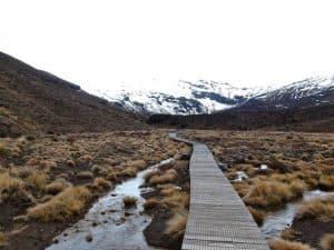 parc national de tongariro sentier de randonnée nouvelle zélande