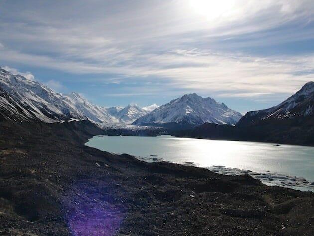 Glacier Abel tasman parc national du mont cook nouvelle zélande