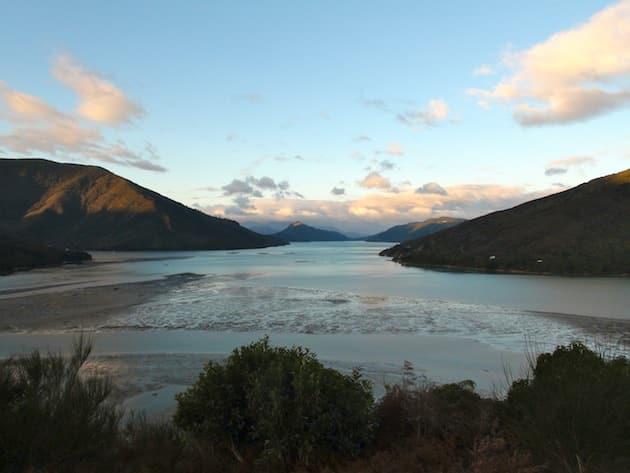 fin de journée Abel Tasman Parc National Nouvelle-Zélande