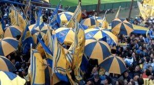 supporteurs de la doce match de boca junior buenos aires argentine
