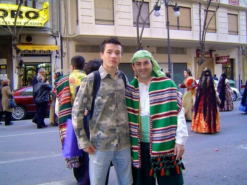 Alex Vizeo sejour Erasmus