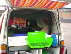 cuisine van road trip australie