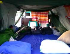 lit van road trip australie