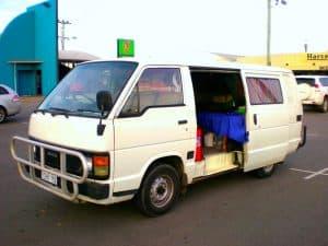 van road trip australie vizeo