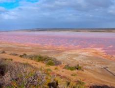 Hutt Lagoon australie de l'ouest