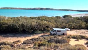 van ensable road trip australie