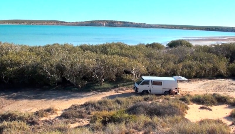 van ensable road trip australie