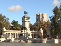 bassin parc du retiro madrid