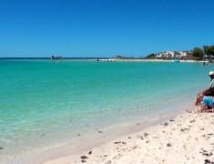 plage coral bay australie