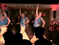 spectacle de flamenco corral de la moreria madrid