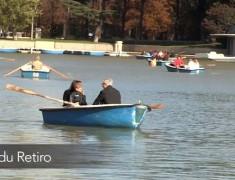 tour en barque parc du retiro madrid