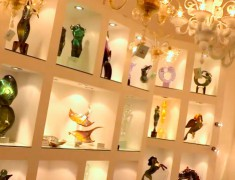 collection artisanat en verre murano