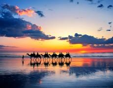 coucher de soleil broome